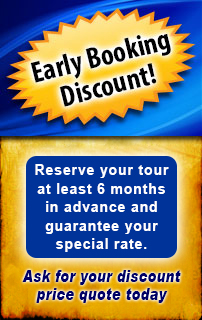 Israel Tour Early Booking Discount