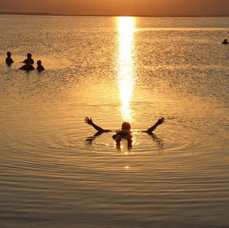 Dead Sea Float, Israel