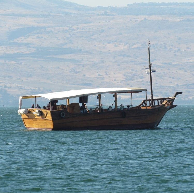 Sea of Galilee Boat