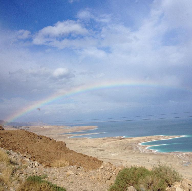 Rainbow over Israel